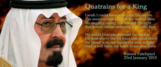 Quatrains for a King by R Fatehpuri