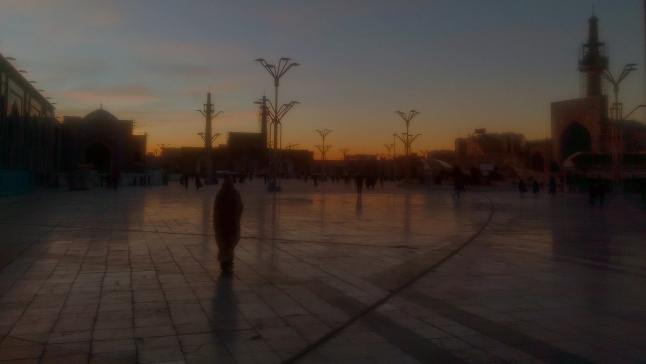Razavi Mosque at dawn